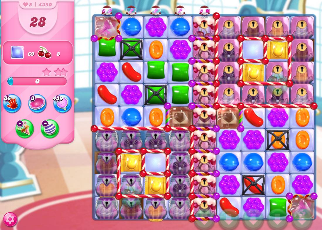 Candy Crush Saga level 4290