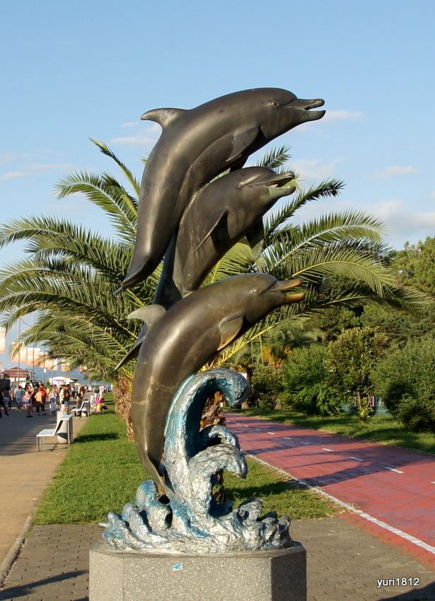 Батуми, Скульптура Дельфины