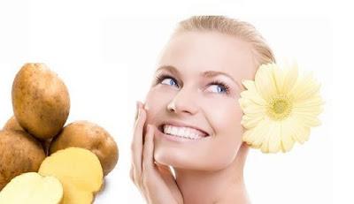 Công dụng trị thâm quầng mắt của khoai tây