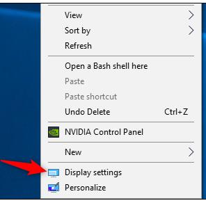 Windows 10, Desktop menu
