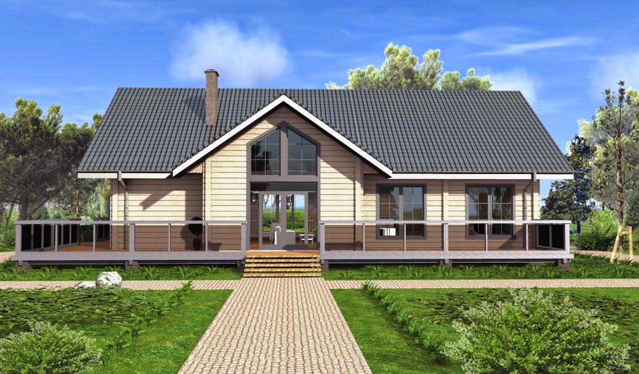 Дом шале