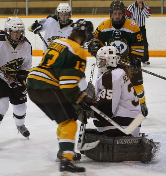 6e945dd20 I had the pleasure of spending the last couple of nights watching some live  hockey action as the Manitoba Bisons women s team closed out the first half  of ...
