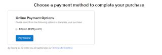 cara membeli domain pakai bitcoin