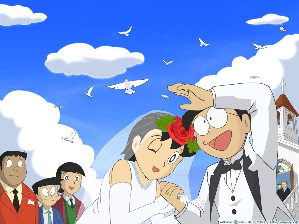 Download Download Nobita dan Malam Sebelum Pernikahan (The Night Before a Wedding) Subtitle Indonesia