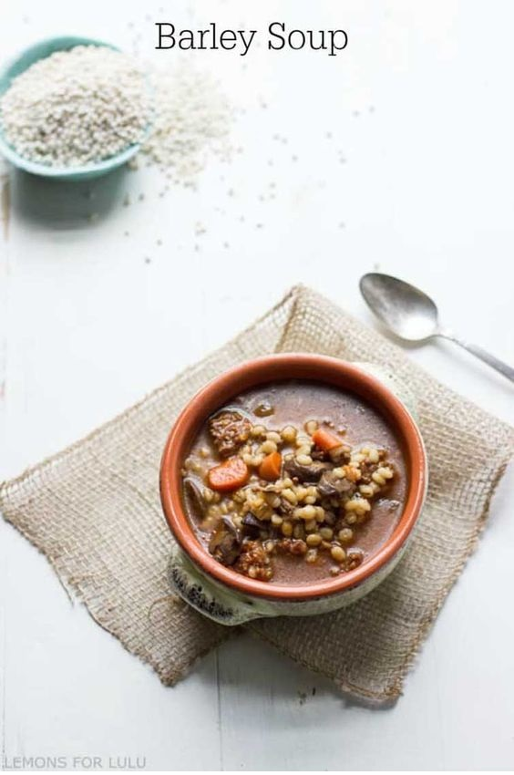 Eastern European Oxtail Barley Soup