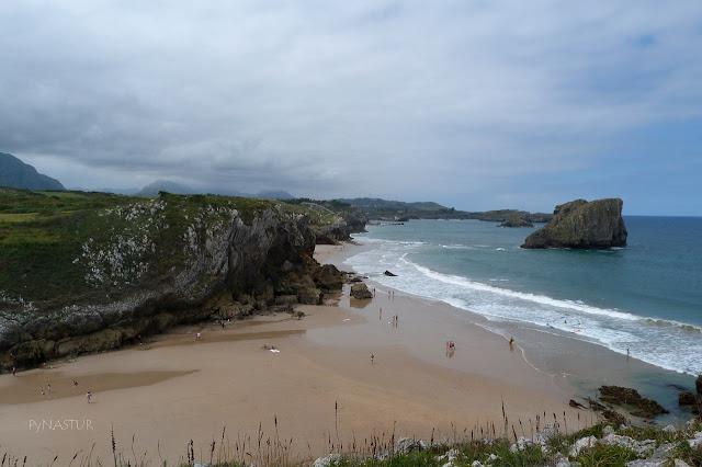 Playa de San Martín o El Portillu - Llanes - Asturias