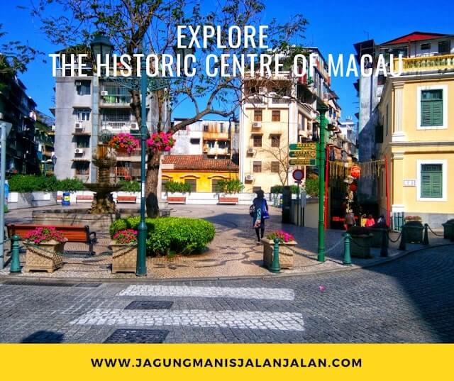 Jalan-Jalan Setengah Hari di Macau, Kemana Aja? jalan-jalan keliling kota tua