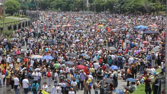 Oposición marchará este lunes #29 en el este y oeste de Caracas