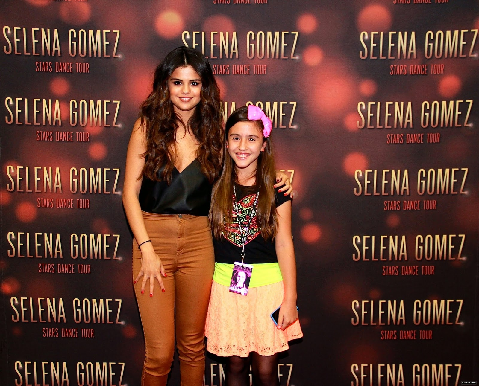 selena gomez meet and greet 2011 nfl