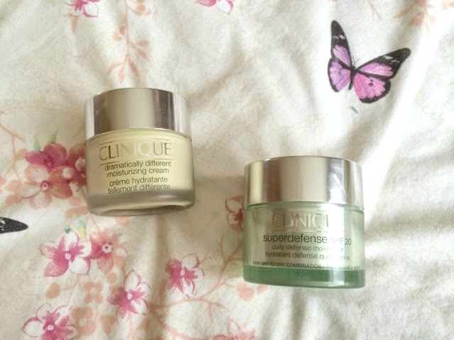 Clinique Dramatically Different Superdefense creams