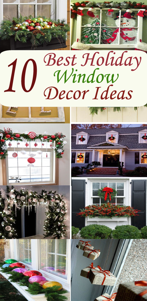 10 best holiday window decor ideas holidays blog for you for B m xmas decorations