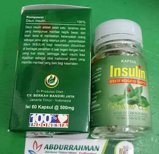 Obat Diabetes Herbal Alami Kapsul Insulin Diabetes Kencono Sari