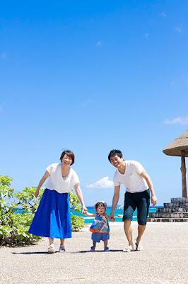 沖縄バースデーフォト出張撮影