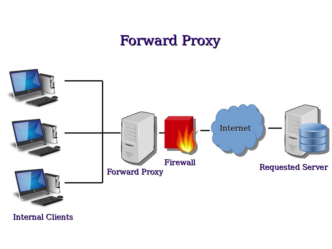 Secure web proxy server mac