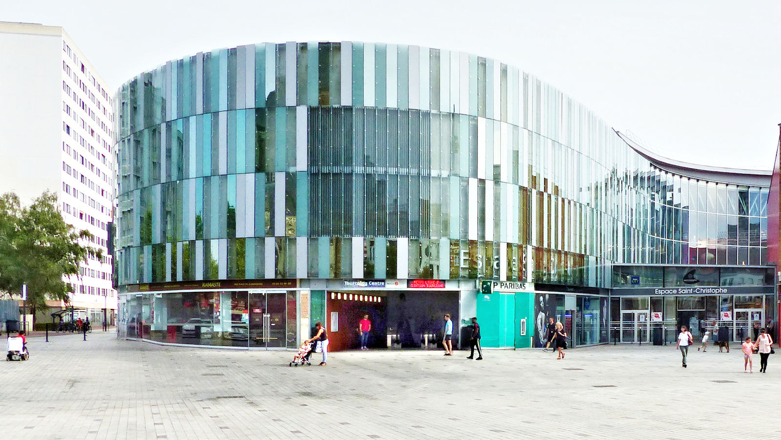 Métro Tourcoing Centre - Entrée Place de la République
