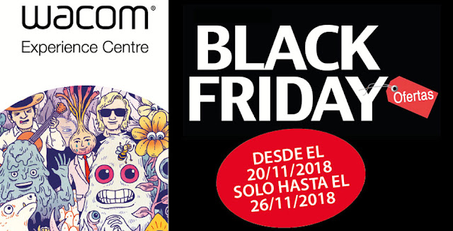 Wacom Black Friday 2018