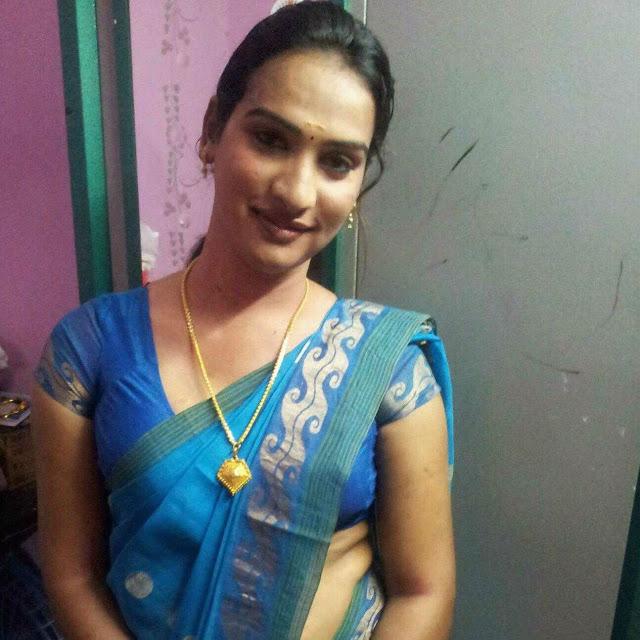 Male wearing Saree