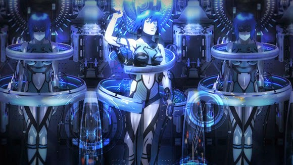 Ghost in the Shell: New Movie - 11 anime movie terbaik 2015