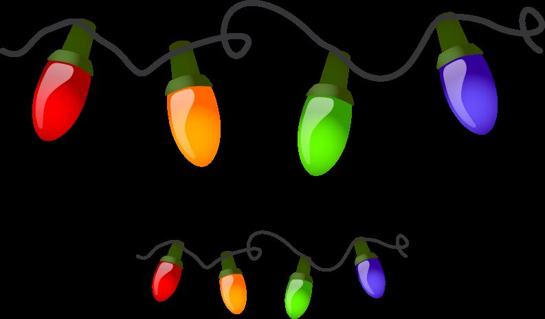 Dibujos Luces Navidad Para Imprimir