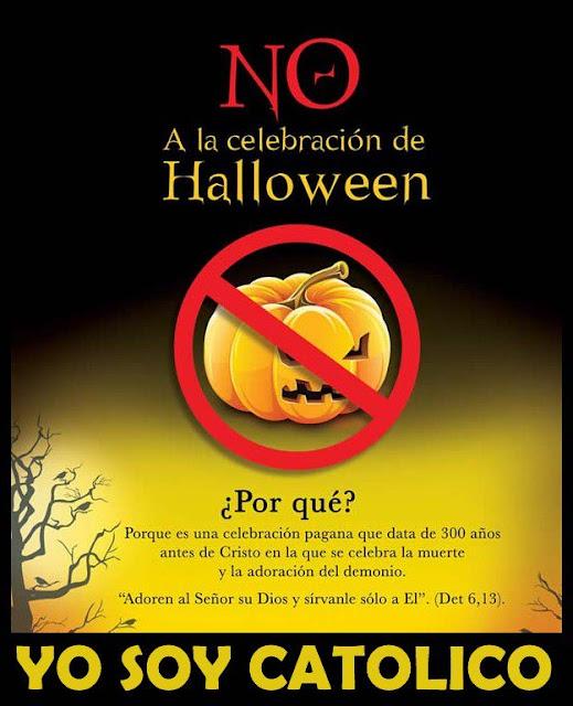 AMOR ETERNO: No celebrar Halloween - Fiesta pagana y anticristiana ...