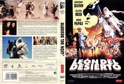 El león del desierto | 1981 | Lion of the Desert | Cover, dvd, caratula