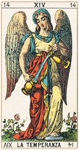 tarot significado da temperança xiv