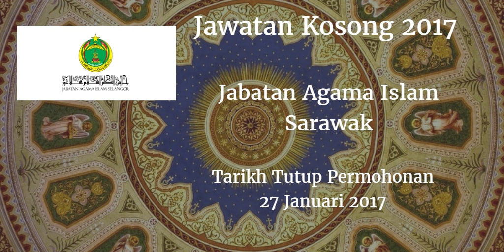 Jawatan Kosong JAIS 27 Januari 2017