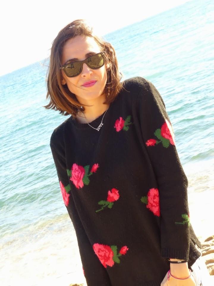 Flores y Playa