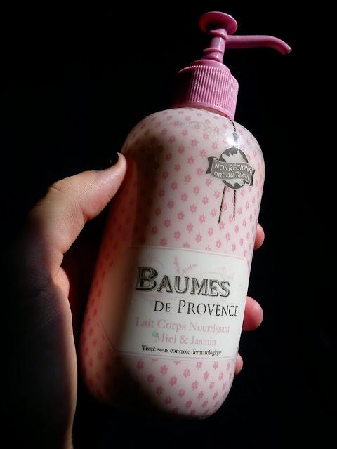 Lait Corps Nourrissant Miel et Jasmin - Baumes de Provence