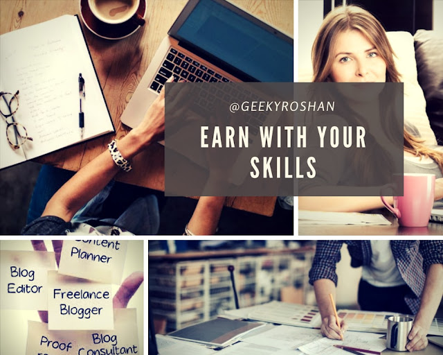 EARN WITH SKILLS