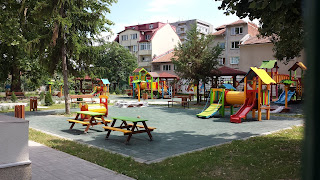 New, Primary School, Playground, Yambol,