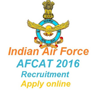 IAF AFCAT 2016 Notification