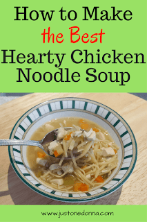 The Best Hearty Chicken Noodle Soup