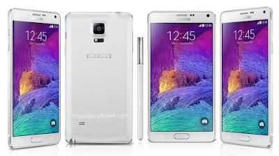Thay mat kinh dien thoai Samsung note 4 chinh hang