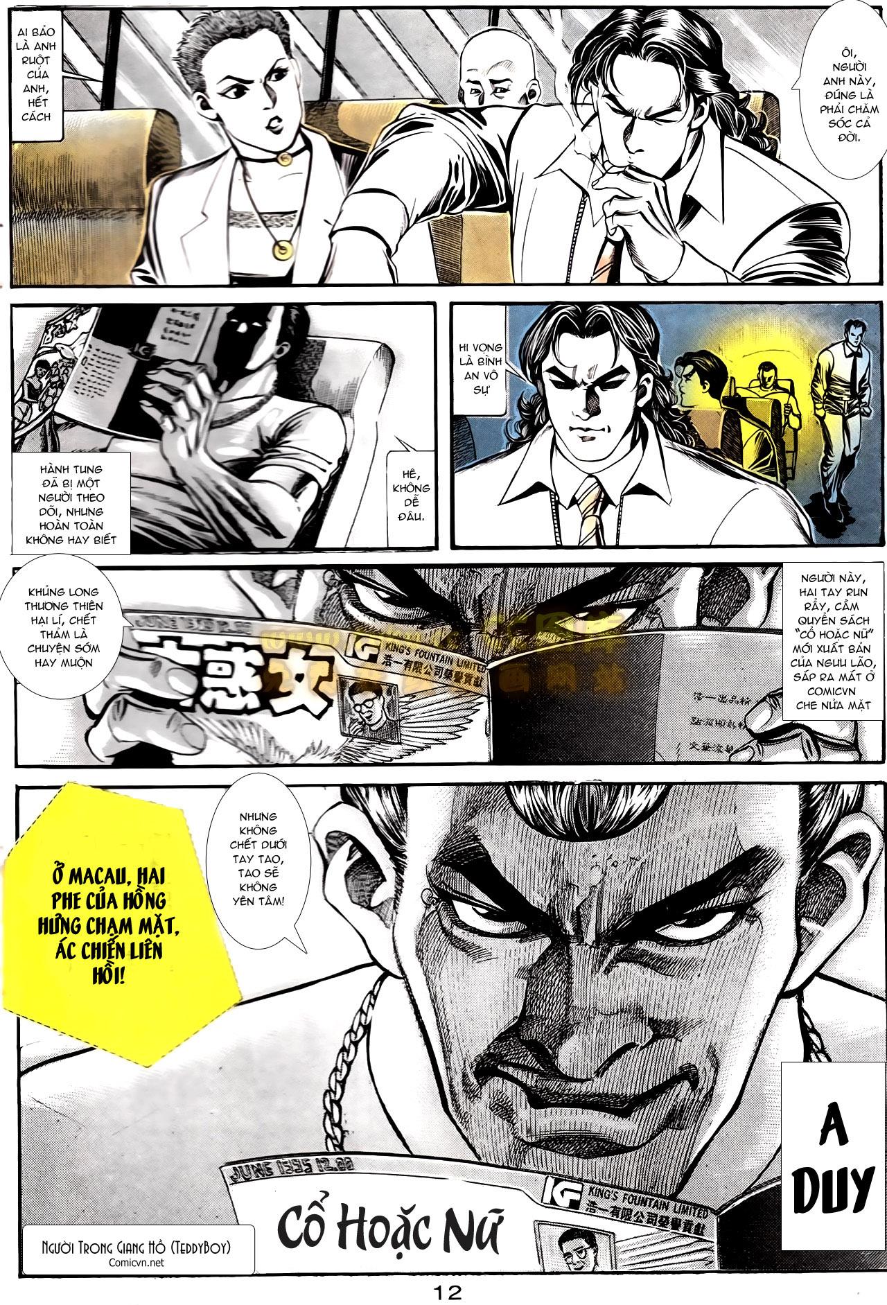 Người Trong Giang Hồ chapter 166: bùng nổ trang 31