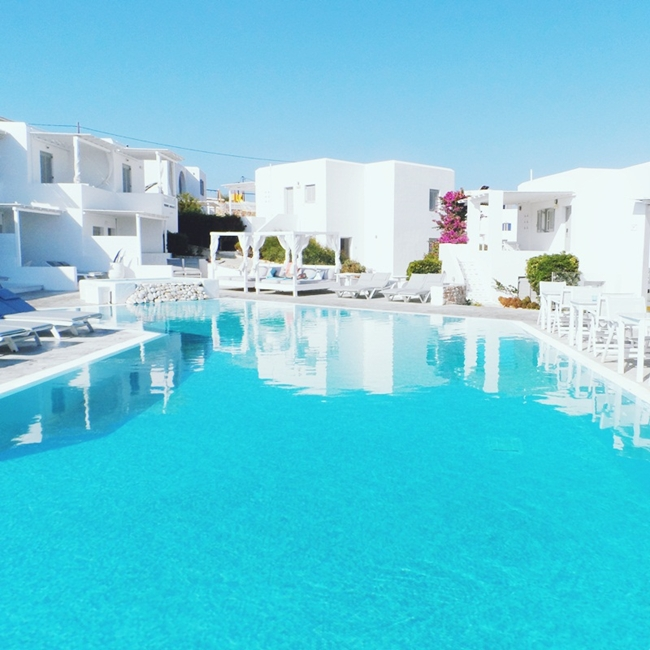 Minois village hotel & spa bazen na ostrvu Paros