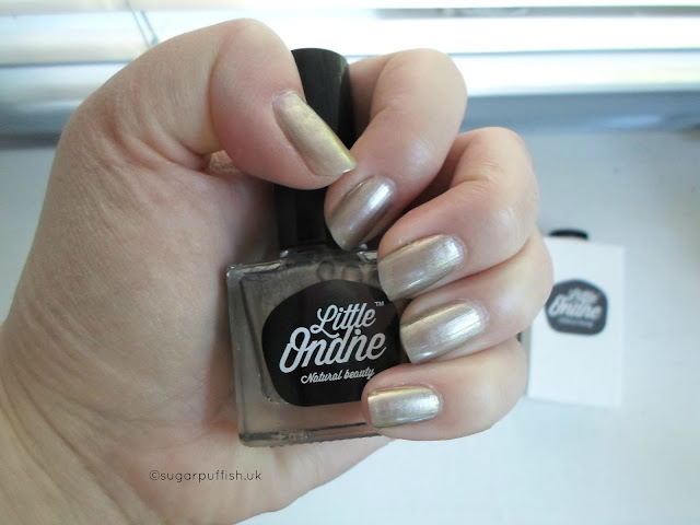 Review Little Ondine Mr Sandman & Secret Water Based Natural Nail Polish
