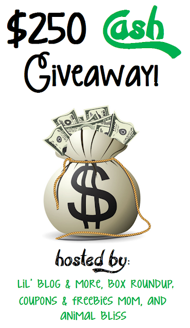 $250 CASH Giveaway Event International
