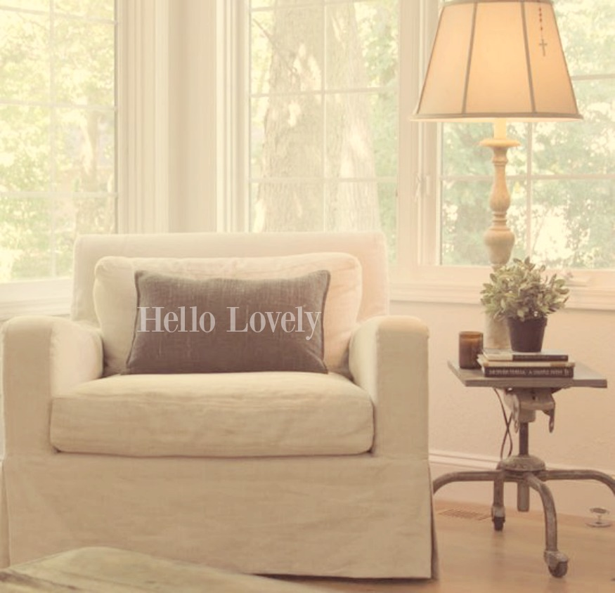belgian linen chair hello lovely studio