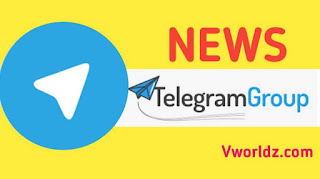 Telegram news group