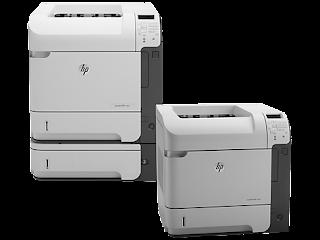 HP LaserJet 600 Printer M602 series drivers download