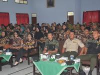Korem 071/Wijayakusuma, Sokaraja, Banyumas Gelar Pembinaan Keluarga Besar TNI