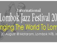 International Jazz Festival in Lombok, Indonesia 18-20 August 2017