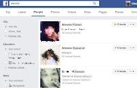 Trovare una persona su internet
