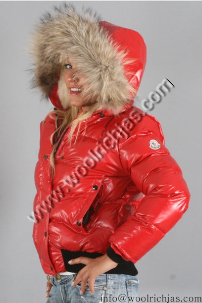 f0570621a04 Moncler Alpin Down Jackets Red Women | Woolrich Jassen