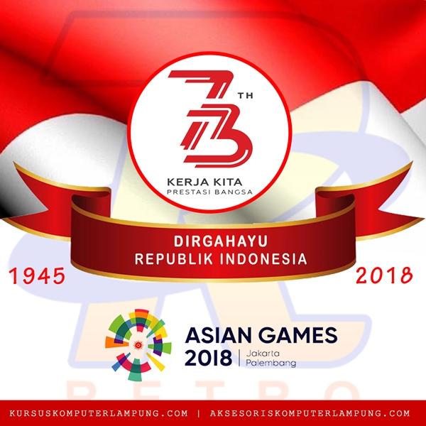 Dirgahayu Indonesia Merdeka ke 73