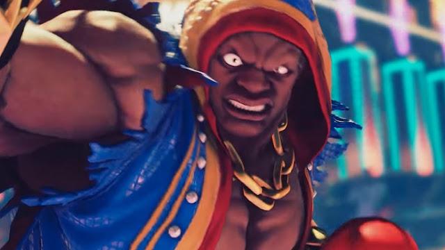 Street Fighter 5 revelou mais um lutador