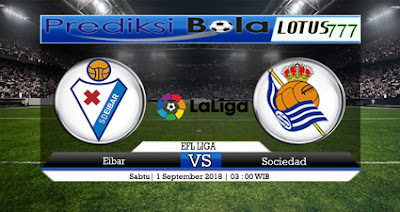 Prediksi Eibar vs Real Sociedad 1 September 2018