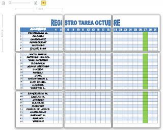 REGISTRO TAREAS OCTUBRE RODESP