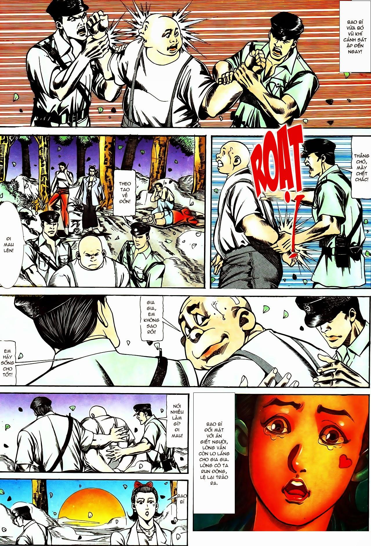 Người Trong Giang Hồ chapter 116: bình minh ló dạng ái tình tan vỡ trang 22